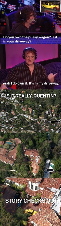 Alright Quentin your story checks out