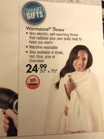 also known as a blanket