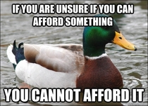 Always remember this before a new purchase