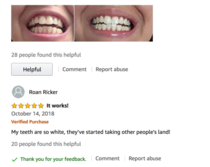 Amazon Review Much Whiter