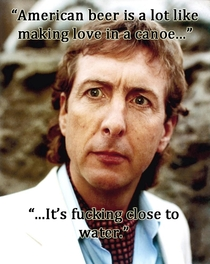 American Beer according to Monty Pythons Eric Idle