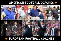 American Football Coaches vs European Football Coaches see the difference