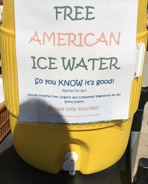 American Ice water