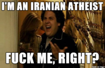 Americans think Im a Muslim Iranian government hates my guts