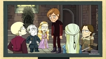 An Alternate Game of Thrones Universe Where Tyrion is Tall and everyone else is a Dwarf they still resent him though