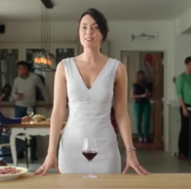 An Australian wine companys ad - Some say you can almost taste the bush