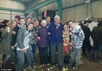 An elderly couple looking for a jumble sale end up at an illegal rave