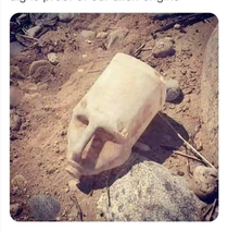 Ancient mask found irrefutable proof of long skull ancestors