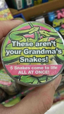 And so the quest for my grandmas lost snakes continues