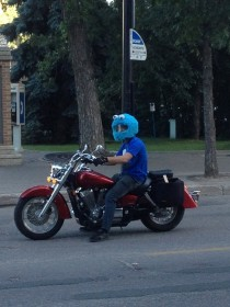 And the best helmet award goes to