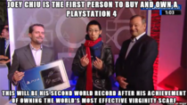 And The First Person To Buy A PlayStation  Is