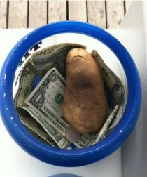 And thus marks the first tip given in the form of a potato