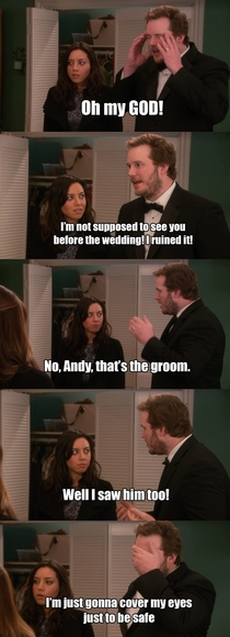Andy has so many great lines in Parks and Rec