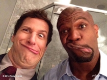 Andy Samberg and Terry Crews everybody