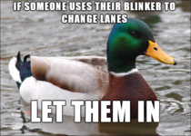 Another side to the blinker issue