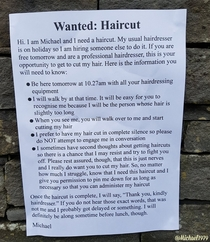 Any hairdressers in the area