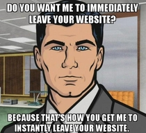 Any website that requires you to create an account to just read an article