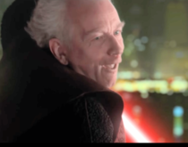 Anyone beside me ever notice palpatine make wierd faces like this while fighting mace Windu