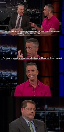 Anything is possible for God - Dan Savage