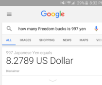 Apparently Google understands Murican