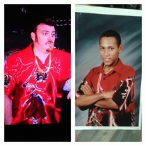 Apparently me circa  had the same fashion sense as Ricky from Trailer Park Boys
