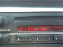 Apparently my radio has had enough of my shit for the day