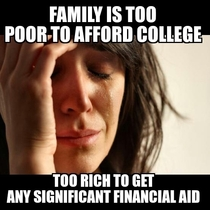 Applying for the FAFSA as a member of a middle class family
