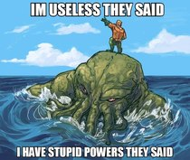 Aquaman is more powerful than you think