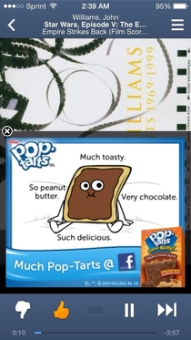 Are you fucking serious Pop-Tarts