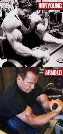 Arnold Schwarzenegger just posted this on facebook