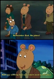 Arthur got Roasted hard
