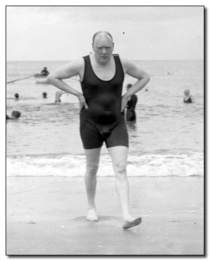 As a Brit whos just woken up I see your sexy founders and raise you Winston Churchills swimsuit bulge