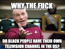 As a Brit whose just learnt what BET isseems a little racist to me