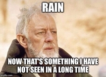 As a Californian seeing all the pictures of the floods