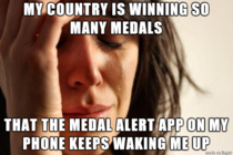 As a Canadian  hours behind on Sochi time ive faced this problem over the past couple of nights