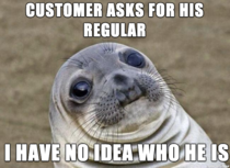 As a Cashier in a Sandwich Shop