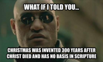 As a Christian this is my response to anyone worried about a War on Christmas