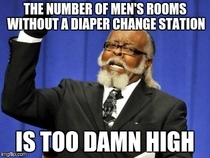 as a father who sometimes needs to change my daughters diaper in public