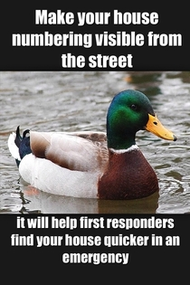 As a first responder I cant stress this enough Seconds count