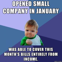 As a first time small business owner this is huge