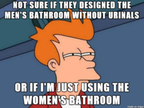 As a guy using a public restroom this always gets me nervous
