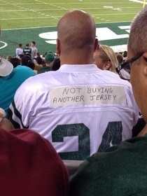 As a Jets fan you eventually have to cut your losses
