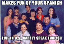 As a Latino born in the states this always drove me crazy growing up