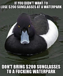 As a lifeguard I get complaints for this all of the time