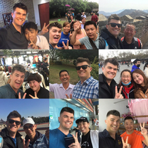 As a   meter tall white dude Ive been asked to take pictures with a lot of random Chinese people during the past two months living in China Im happy to do it but I always ask that they take a selfie with me in return Here are the highlights