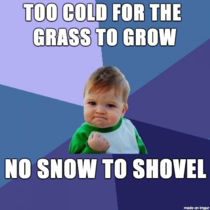 As a Midwest homeowner in mid-December this year