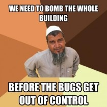 As a Muslim I totally felt like this guy when I was on the phone with pest control company