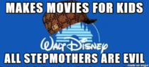 As a new stepmother Disney is not working in my favor