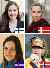 As a Norwegian I find this absolutely fabulous Nordic Prime Ministers