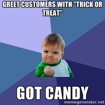 As a Pizza Delivery Driver on Halloween